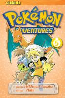 Pokémon adventures Vol. 5 / [English adaptation: Gerard Jones ; translation: Kaori Inoue]