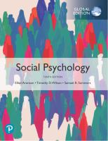 Social psychology Global Edition